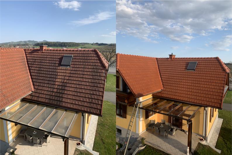 Dach- / Fassadenreinigung